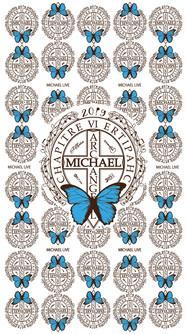 MICHAEL《第六章》オリジナル待受[BBモノグラム ver.]